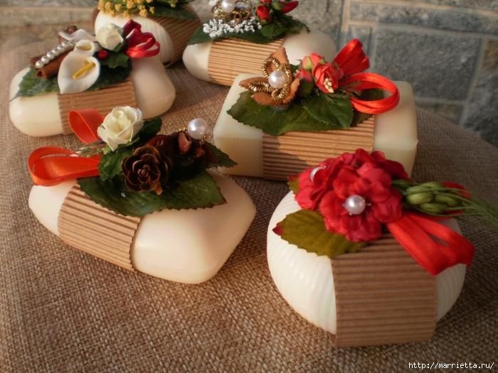 Мыльные корзиночки - ароматные подарочки. Фото и видео мастер-класс (17) (700x525, 311Kb)