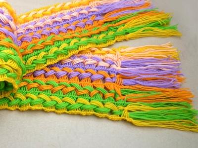 Веселый шарфик, вязание крючком на линейке (7) (400x300, 148Kb)