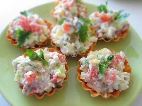 семга салат корзинках (604x453, 195Kb)