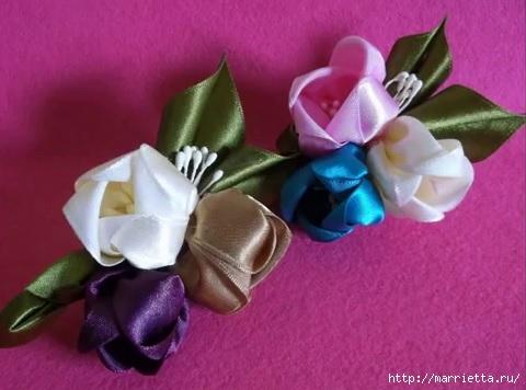 красивые цветочки КАНЗАШИ.