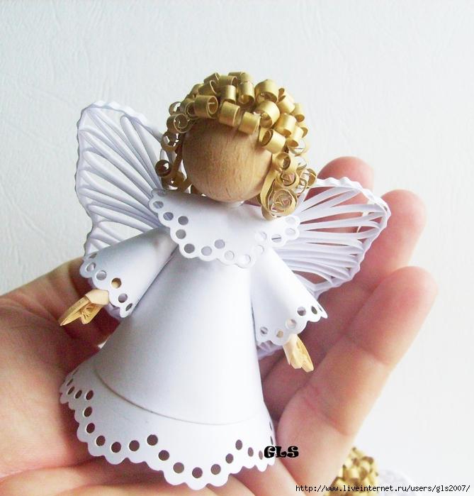 Ангелочек поделки своими руками