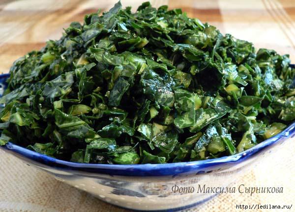 Капуста для зеленых щей рецепт