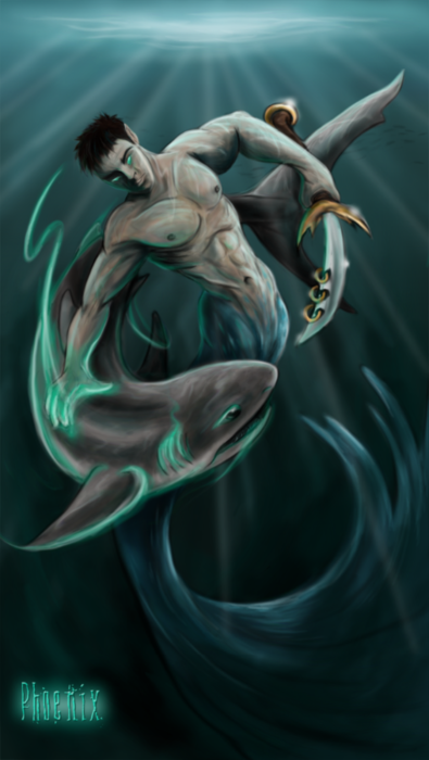 The_Shark_Tamer_by_Phoenix_Cry (395x700, 321Kb)