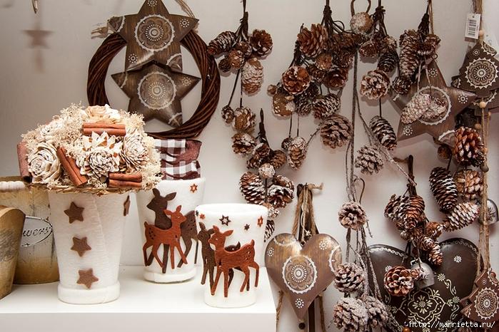 Красивые идеи для декора из природных материалов (5) (700x466, 349Kb)