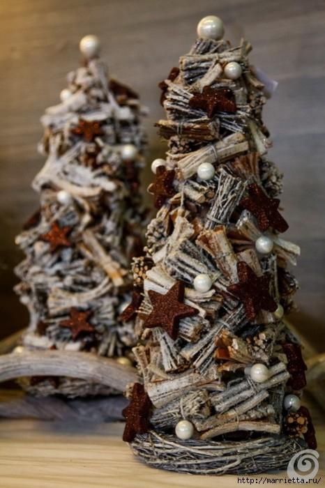 Красивые идеи для декора из природных материалов (15) (466x700, 201Kb)