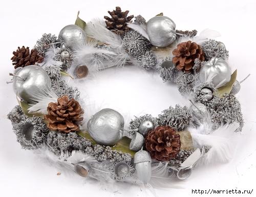 Красивые идеи для декора из природных материалов (22) (500x385, 159Kb)