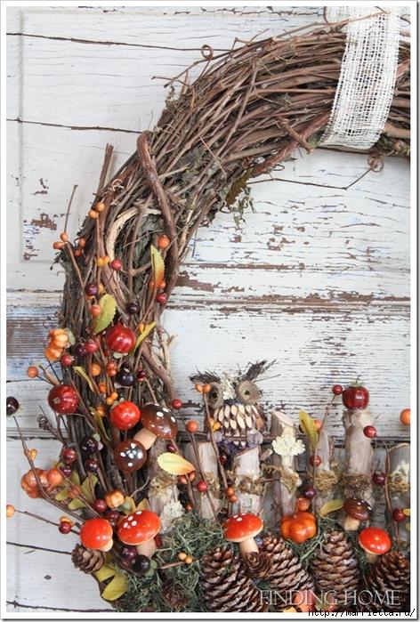 Красивые идеи для декора из природных материалов (35) (472x700, 339Kb)