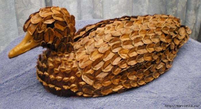 Красивые идеи для декора из природных материалов (56) (700x379, 225Kb)