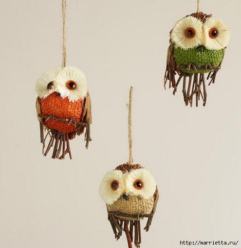 Красивые идеи для декора из природных материалов (103) (495x509, 85Kb)