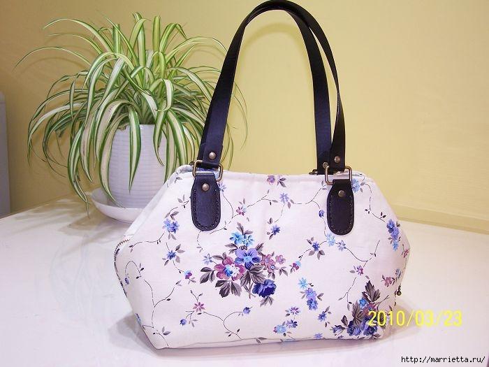 Шьем сумку. Фото мастер-класс по пошиву (1) (700x525, 175Kb)