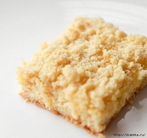 Творожный пирог с крошкой рецепт с фото