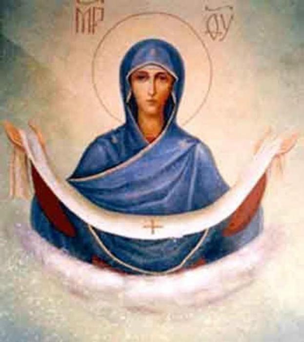 Сегодня Великий праздник Русской Православной Церкви - Покров Пресвятой Богородицы и Приснодевы Марии SakhaTodaySakhaToday