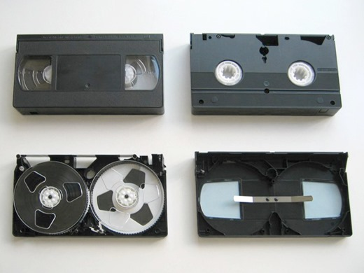Пленка из видеокассет своими руками