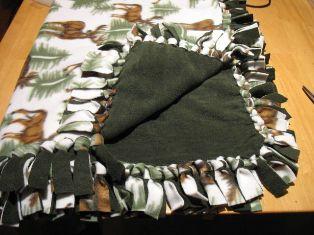 Шаг за шагом руно одеяла