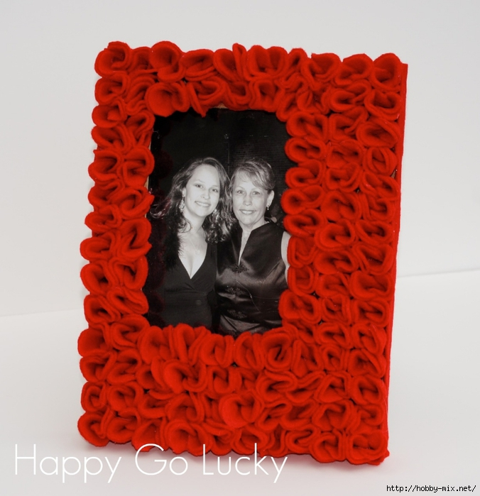 red rose picture frame (676x700, 256Kb)