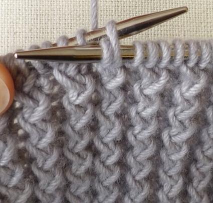 Вязание резинки спицами