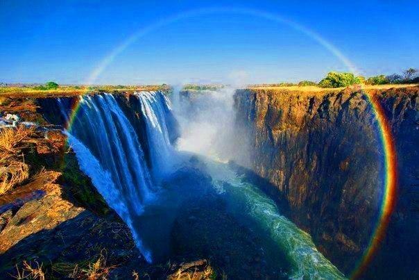 Радуга над водопадом Виктория (604x403, 60Kb)