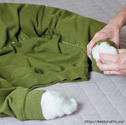 Как сшить лежанку для собаки. мастер-классы (22) (402x400, 81Kb)