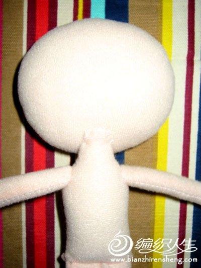 Шьем игрушки. Куколка КОШКА (4) (400x533, 107Kb)