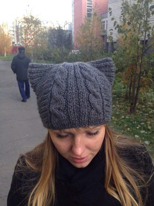 шапка -кошка - Самое