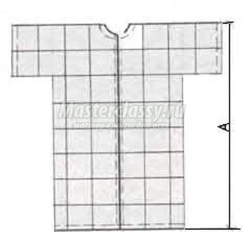 Как сшить банный халат без выкройки быстро