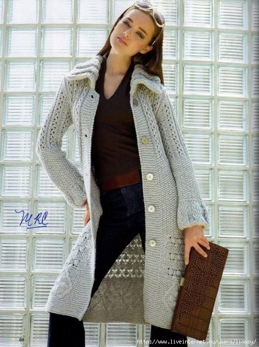 пальто спицами (522x699, 236Kb)