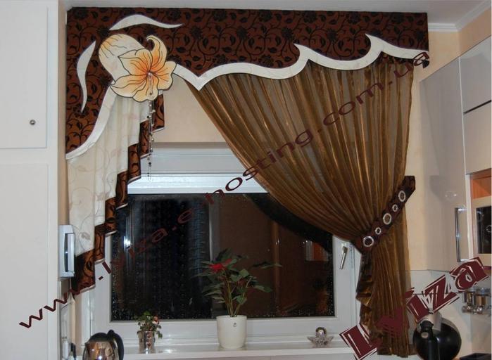 Идеи штор с ламбрекенами