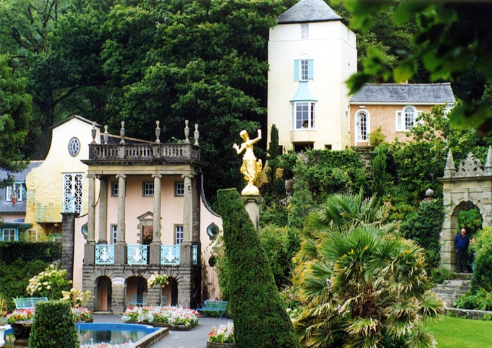 Hotel portmeirion wedding