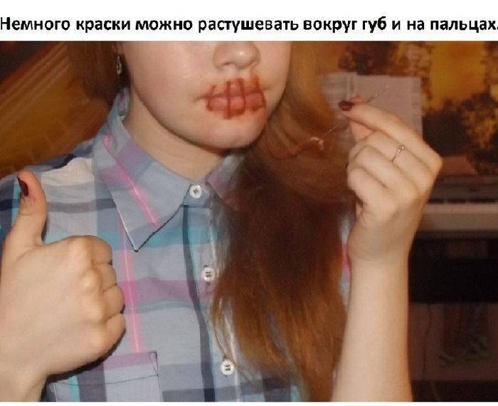 Как зашить себе рот (1) (700x571, 155Kb)