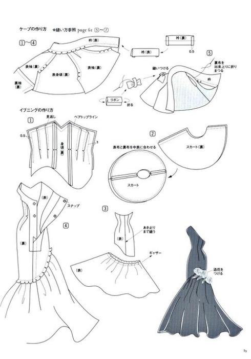 Шьем халат выкройки