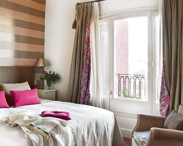 Идеи для тюли в спальню