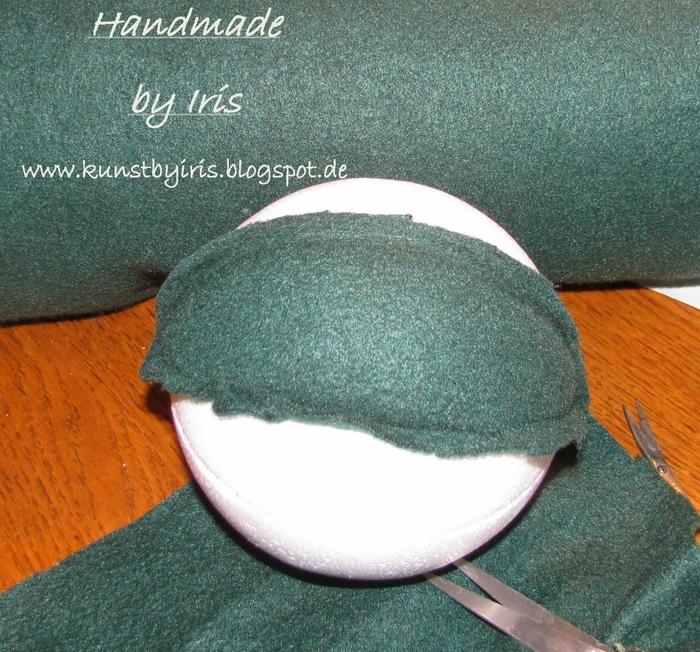 Елочные шары своими руками в технике кинусайга