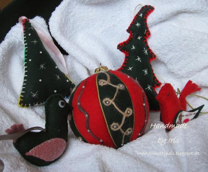 Новогодние игрушки шары своими руками из пенопласта
