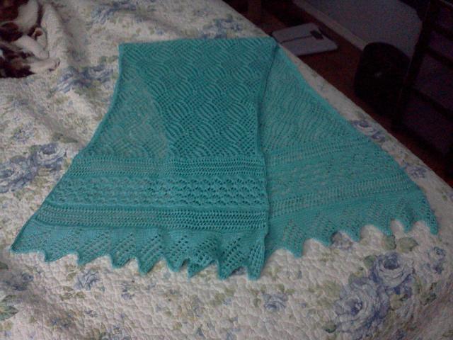 针织:巧织围巾 - maomao - 我随心动