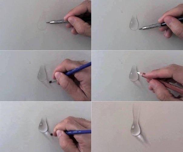 учимся рисовать простым карандашом: