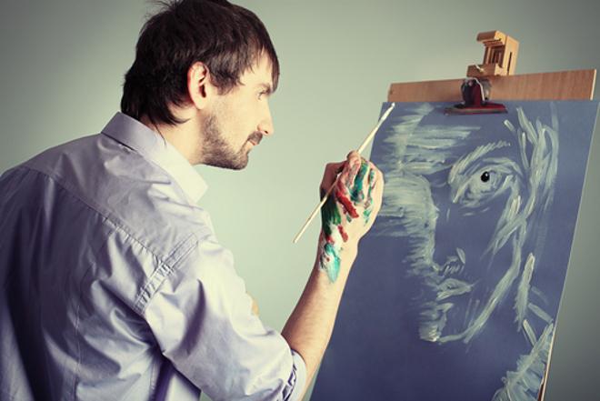 творческие люди использующие машинку