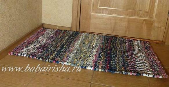 Рукоделие коврик из лоскутков