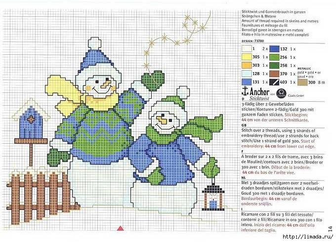 bonecos de neve (680x490, 279Kb)