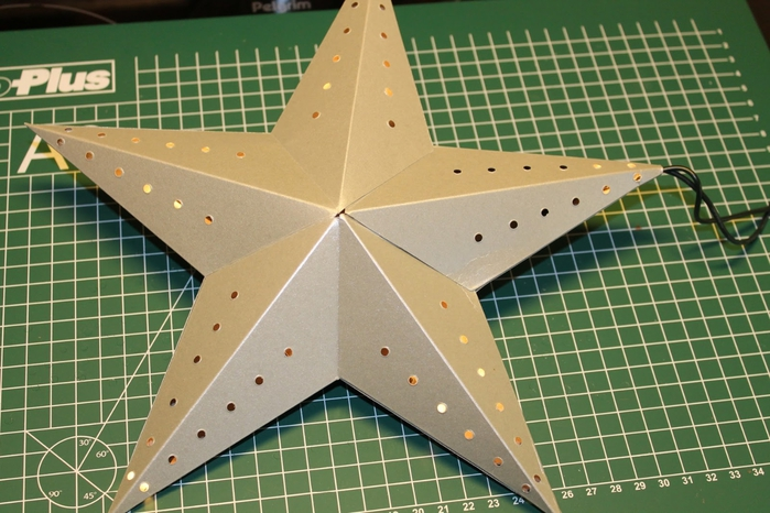 Светящееся рождественская звезда
