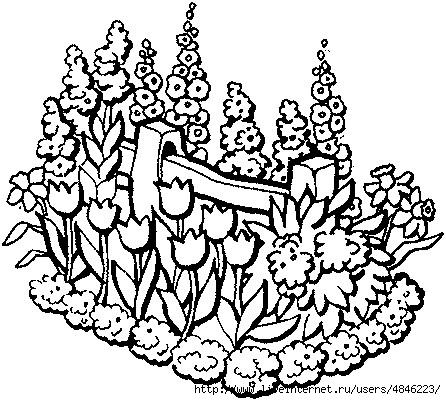 Blumenbeet (446x400, 167Kb)