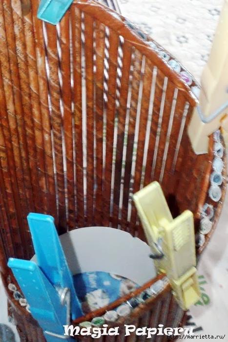 Плетение из газет. Подставки для вина и шампанского (10) (467x700, 269Kb)