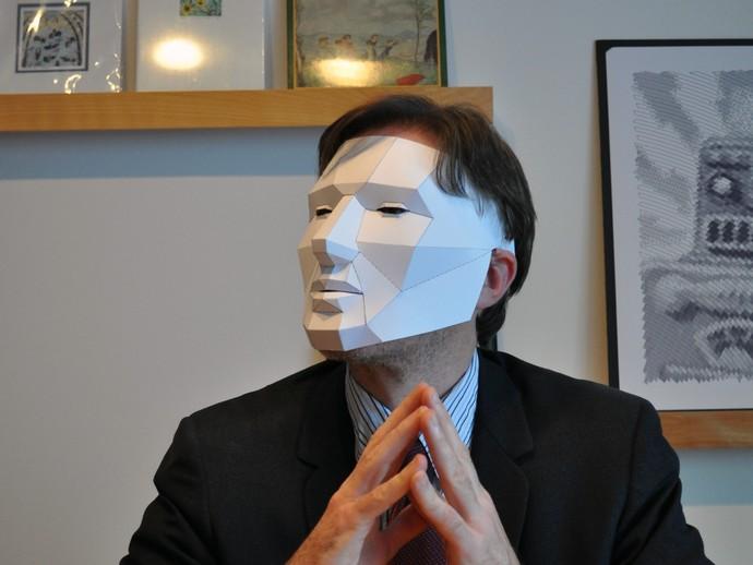 Маску анонимуса своими руками