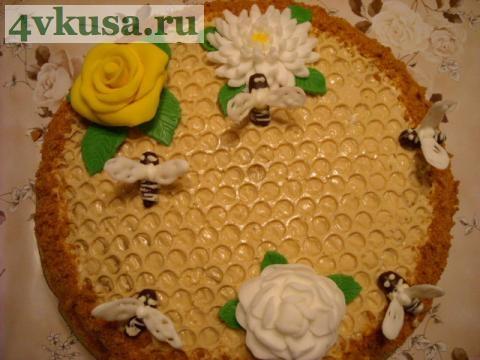 Торт улей рецепт картинки