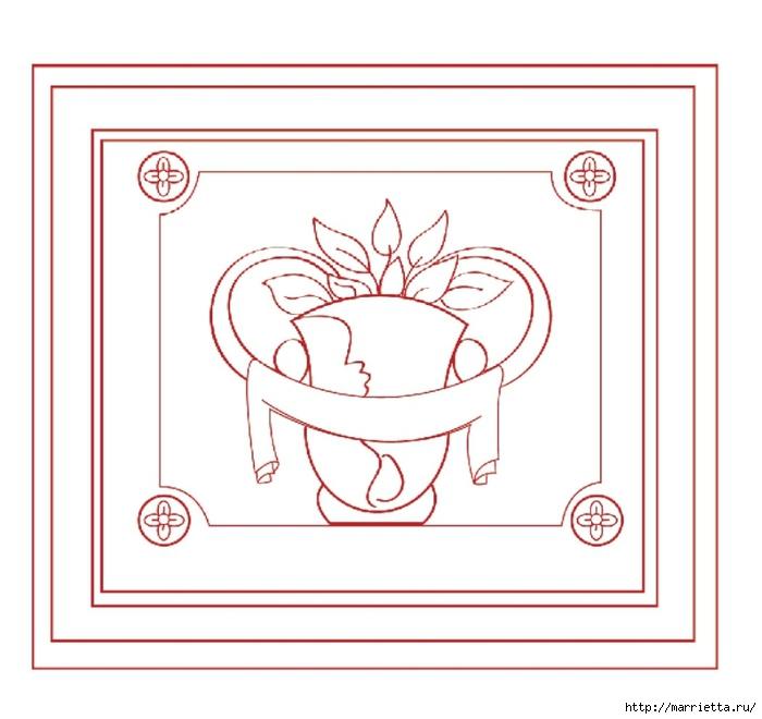 Роспись консоли для бижутерии в стиле сверхнатурализма (2) (700x660, 159Kb)