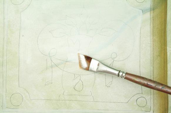 Роспись консоли для бижутерии в стиле сверхнатурализма (7) (582x385, 438Kb)