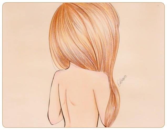 Картинки нарисованные карандашом девушек красивые