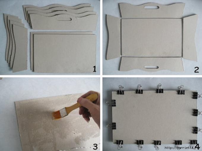 Корзинка для рукоделия из картона. Мастер-класс (1) (681x509, 135Kb)