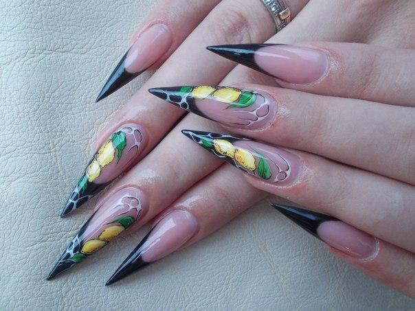 Дизайн для ногтей кружева