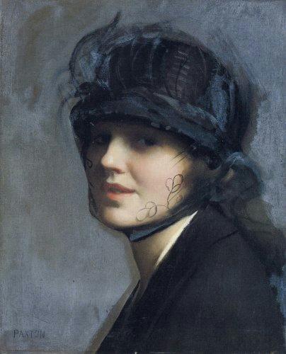 1 Пакстон В.М. Портрет Шарлотты Морган (404x500, 125Kb)