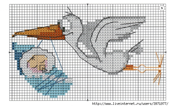 С рождением ребенка вышивки крестом схемы